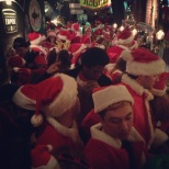 30,000 Santas in New York!