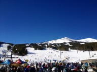 And topped it off in Beautiful Breckenridge