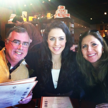 Short but fun visit with the parents this weekend