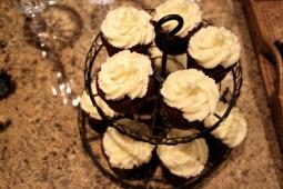 Delicious red velvet cupcakes!