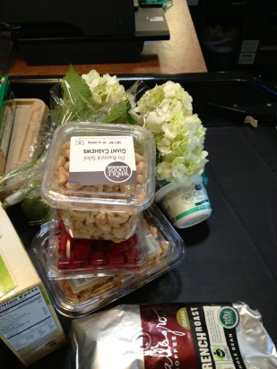 What is Sunday without a stop at Whole Foods?