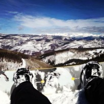 Bluebird Day in Beaver Creek